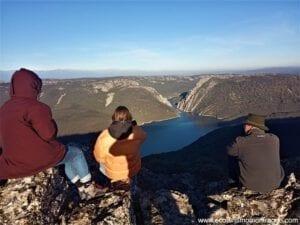 Salto del Corzo en Monfragüe